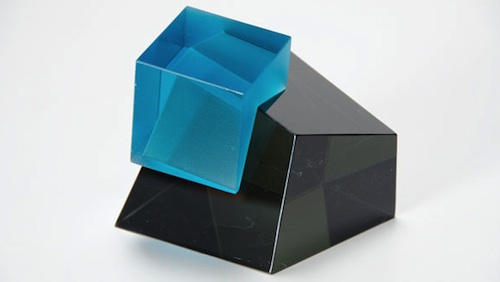 Heike Brachlow Axiom VII, 2013 cast glass 4.5 x 5.625 x 5.5 inches
