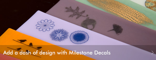 Add a dash of design with Milestone Decals. Shop now!