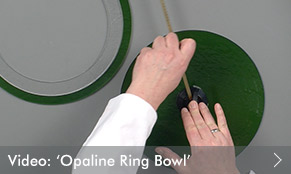 Video: Opaline Ring Bowl