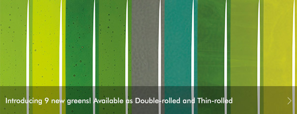 Introducing 9 new greens. Available as Double-rolled and Thin-rolled.