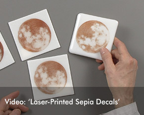 Sepia Decals
