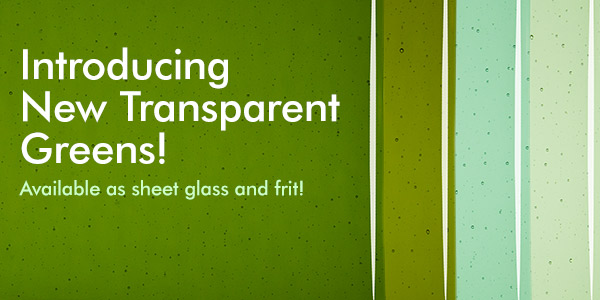 new transparents green banner