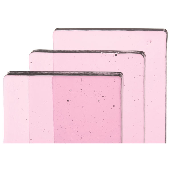 erbium pink tint glass gallery bullseye glass products