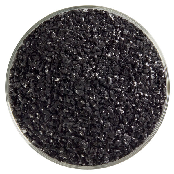 black opalescent glass frit 000100-0002-F-xxxx