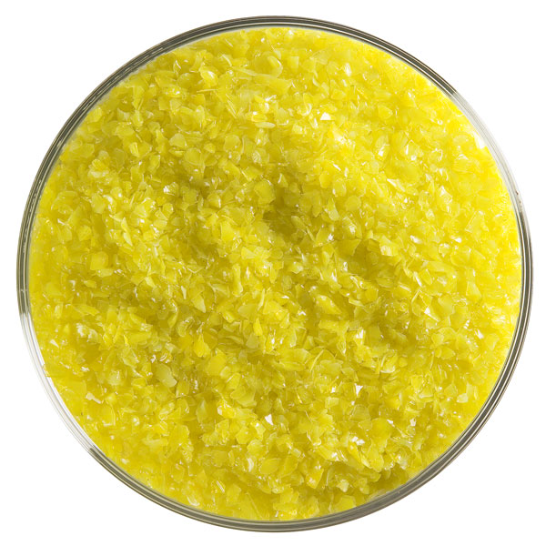 canary yellow opalescent frit 000120-0002-F-xxxx