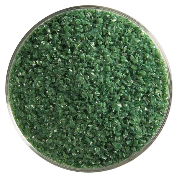 dark forest green opalescent frit 000141-0002-F-xxxx