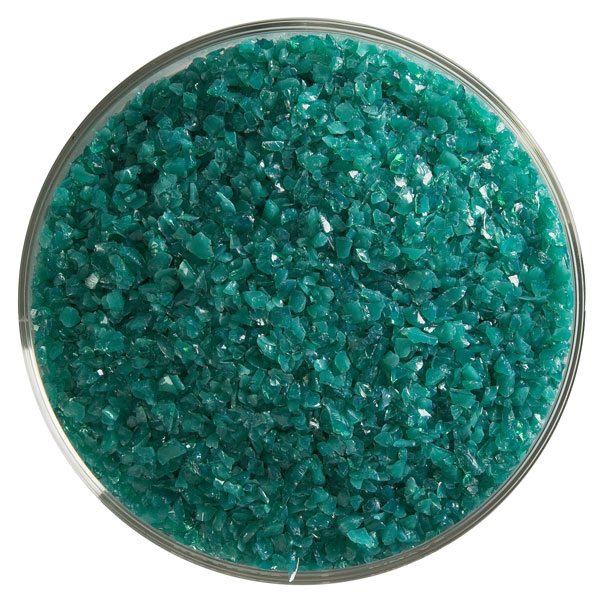 teal green opalescent frit 000144-0002-F-xxxx