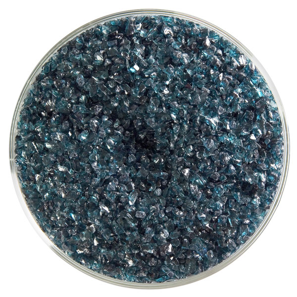 Aquamarine Blue Transparent Frit 001108-0002-F-xxxx