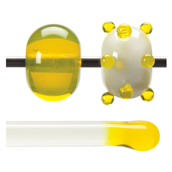 Yellow Transparent Rod 001120-0576-F-xxxx