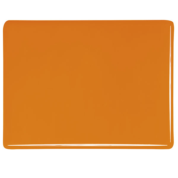 bullseye tangerine orange opalescent kiln glass 000025-0030-x-xxxx