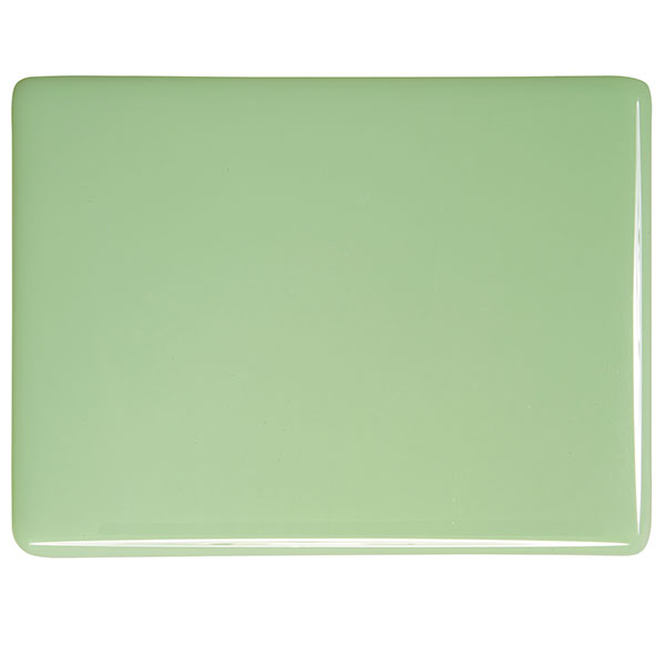 bullseye mint green opalescent kiln glass 000112-0030-x-xxxx