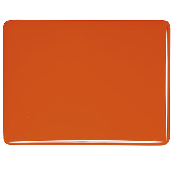 bullseye orange opalescent kiln glass 000125-0030-x-xxxx