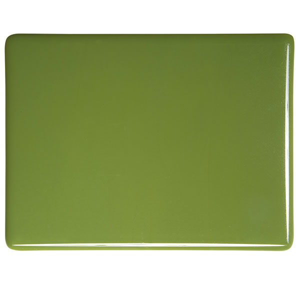 bullseye olive green opalescent kiln glass 000212-0030-x-xxxx
