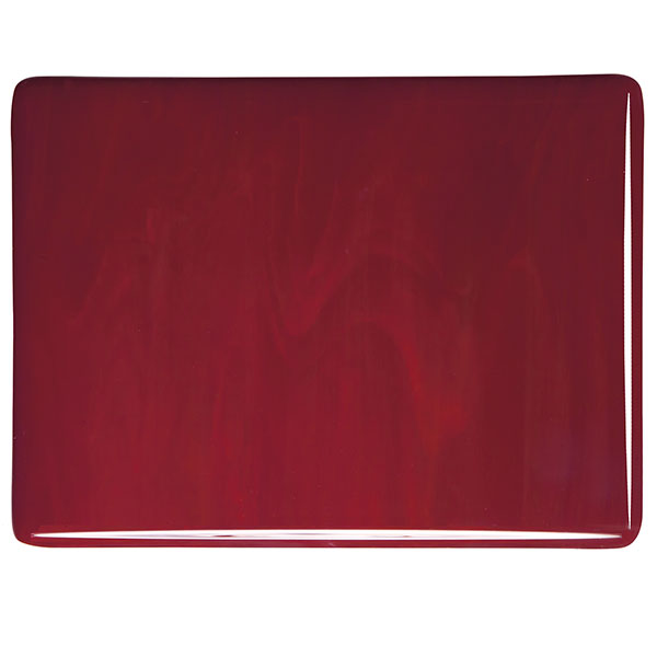bullseye deep red opalescent kiln glass 000224-0030-x-xxxx