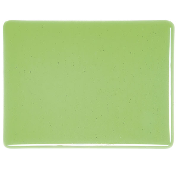 bullseye light green transparent kiln glass 001107-0030-x-xxxx