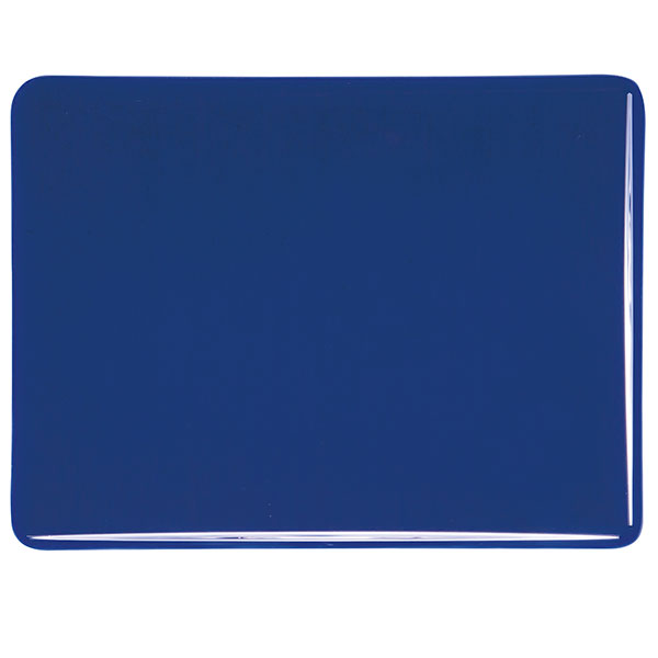 Bullseye Midnight Blue Transparent Kiln Glass 001118-0030-x-xxxx