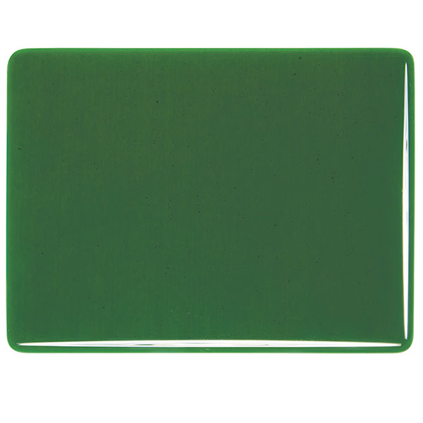 Bullseye Kelly Green Transparent Kiln Glass 001145-0030-x-xxxx