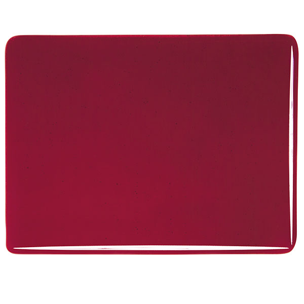 Bullseye Garnet Red Transparent Kiln Glass 001322-0030-x-xxxx