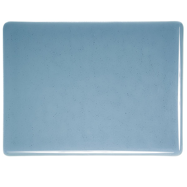 Bullseye Steel Blue Transparent Sheet Glass 001406-0030-x-xxxx
