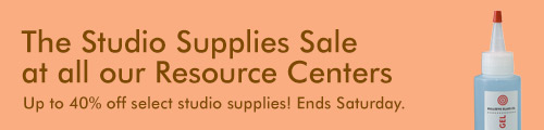 Studio Supplies Sale