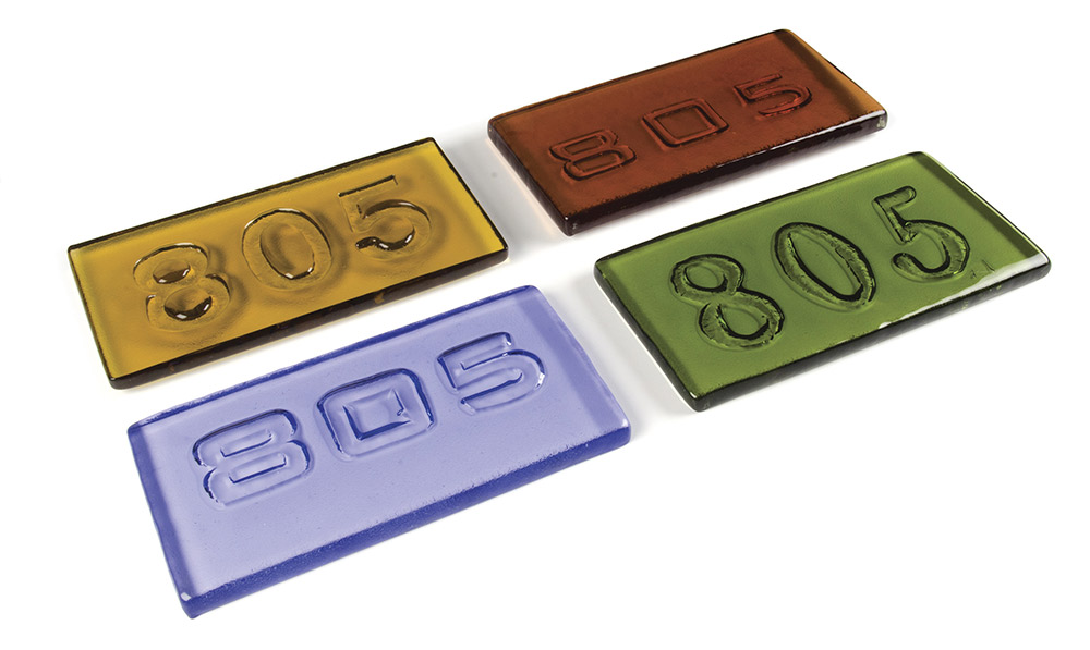 In Block Party: Carving Glass with Heat, you'll learn to add letters, numbers and imagery to glass billets.
