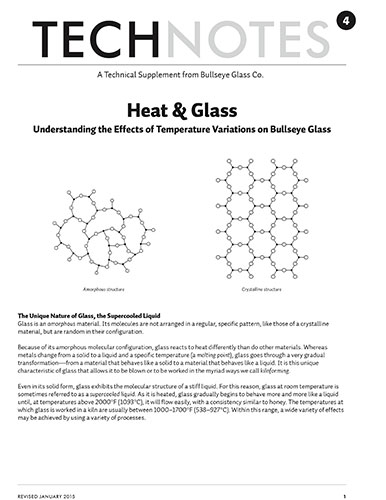 technote 4: how does heat affect glass?
