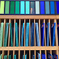 Bullseye sheet glass comes in an array of colors and sizes