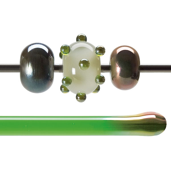 Green Lustre Transparent Rod 001707-0576-F-xxxx