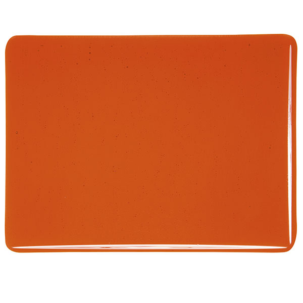 Bullseye Orange Transparent Kiln Glass 001125-0030-x-xxxx