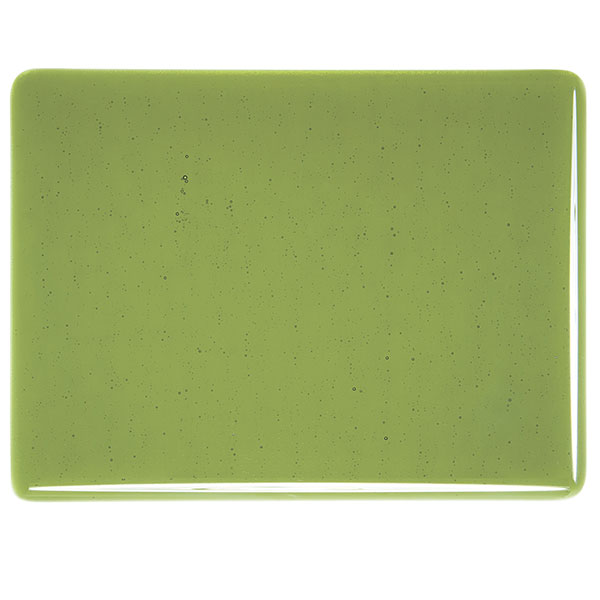 Bullseye Olive Green Transparent Kiln Glass 001141-0030-x-xxxx
