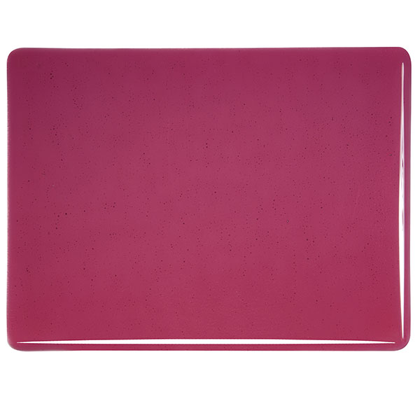 Bullseye Cranberry Pink Transparent Sheet Glass 001311-0030-x-xxxx